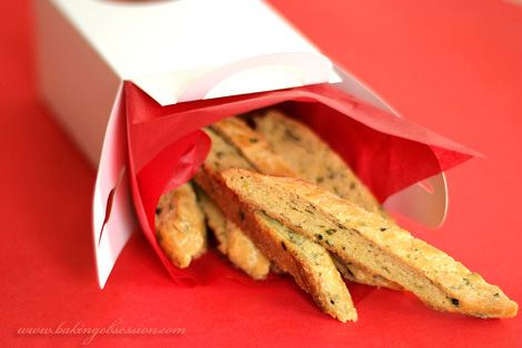 Brown Butter, Lemon, and Caper Biscotti