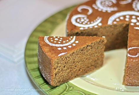 Chai Tea Spice Cake Slice