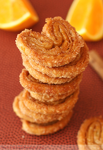 Cinnamon Orange Palmiers