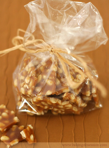 Pine Nut Brittle (Crocante)
