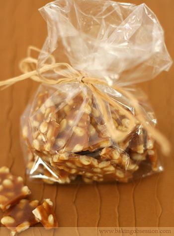 Pine Nut Brittle (Crocante)
