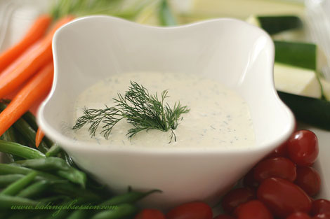 Capers and Lemon Dip