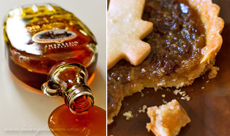 Maple Syrup Butter Tart Diptych
