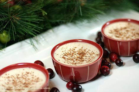 Cranberry-Mascarpone Pots De Crème