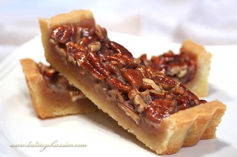 Honey Maple Pecan Tart (slice)