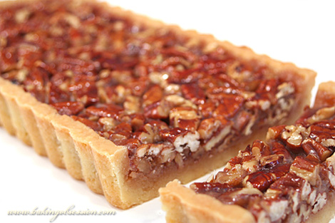 Honey Maple Pecan Tart
