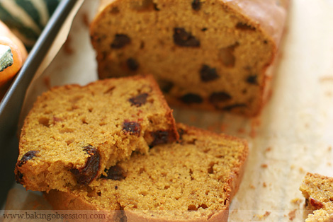 5-Spice Pumpkin and Date Loaf