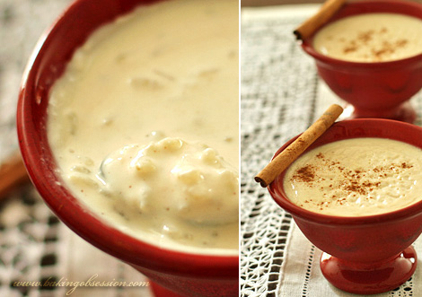 Cinnamon Rice Pudding (Arroz Con Leche)