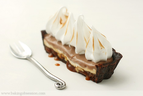 Milk Chocolate and Salted Caramel Tart