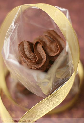 Viennese Chocolate Sablés