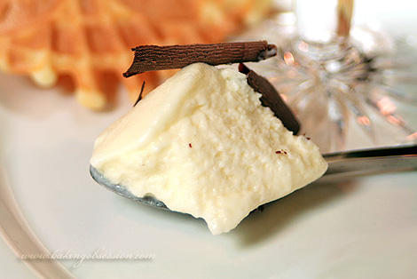 White Chocolate Mousse Inside